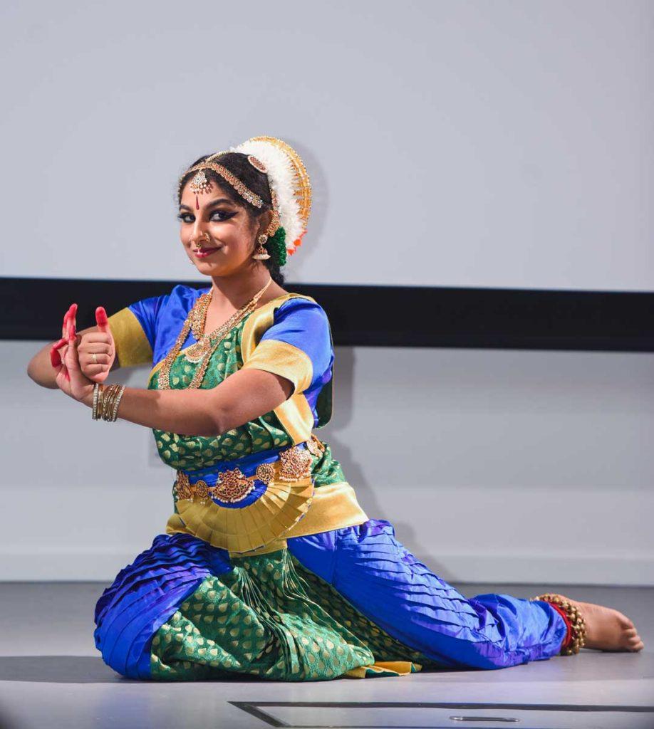 Purvaja Bharathanatiyam Dance. Photo by Baba Luxy.